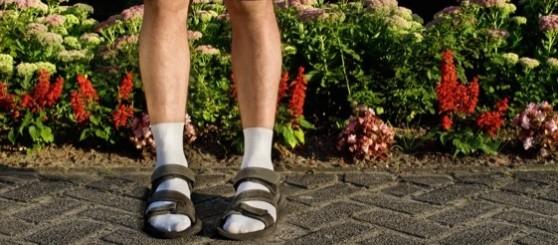 Sandalia-meias