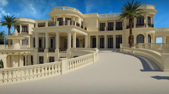 A mansão na foto é uma propriedade exclusiva na Florida, EUA. Custa uma bagatela: $140 milhões de dólares ($330 milhões de reais)